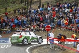 Rally Islas Canarias 2012 Skoda