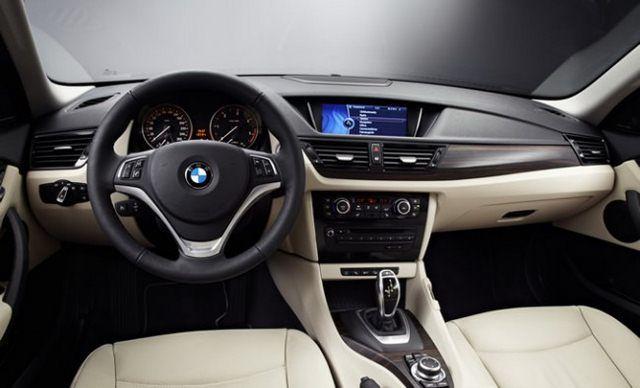 BMW - wnętrze