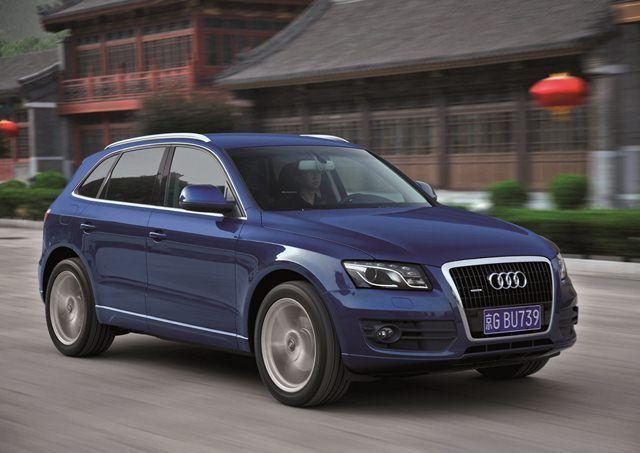 Audi Chiny