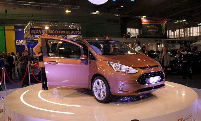 Ford B-MAX Poznań Motor Show