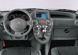 Fiat Panda Cross - wnętrze