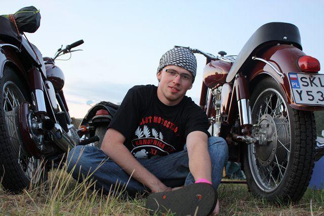 Tobiasz Kukieła Moto Bałkany 2012