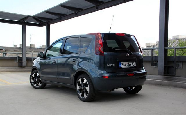 Nissan Note 1.6 110 KM - test