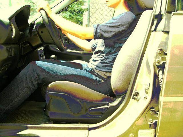 pozycja za kierownica