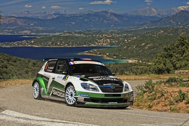 Tour de Corse 2012 Jan Kopecky