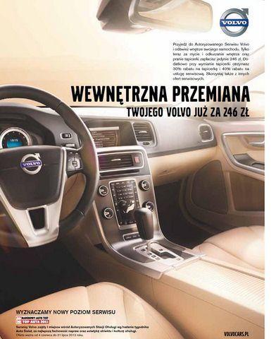 Volvo wewnętrzna przemiana