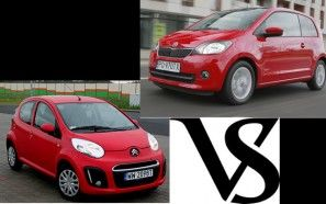 Test: Citroen C1 vs. Skoda Citigo