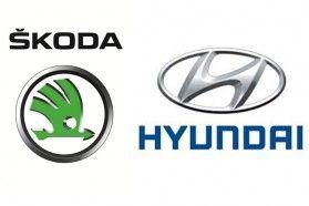 Skoda i Hyundai - logo
