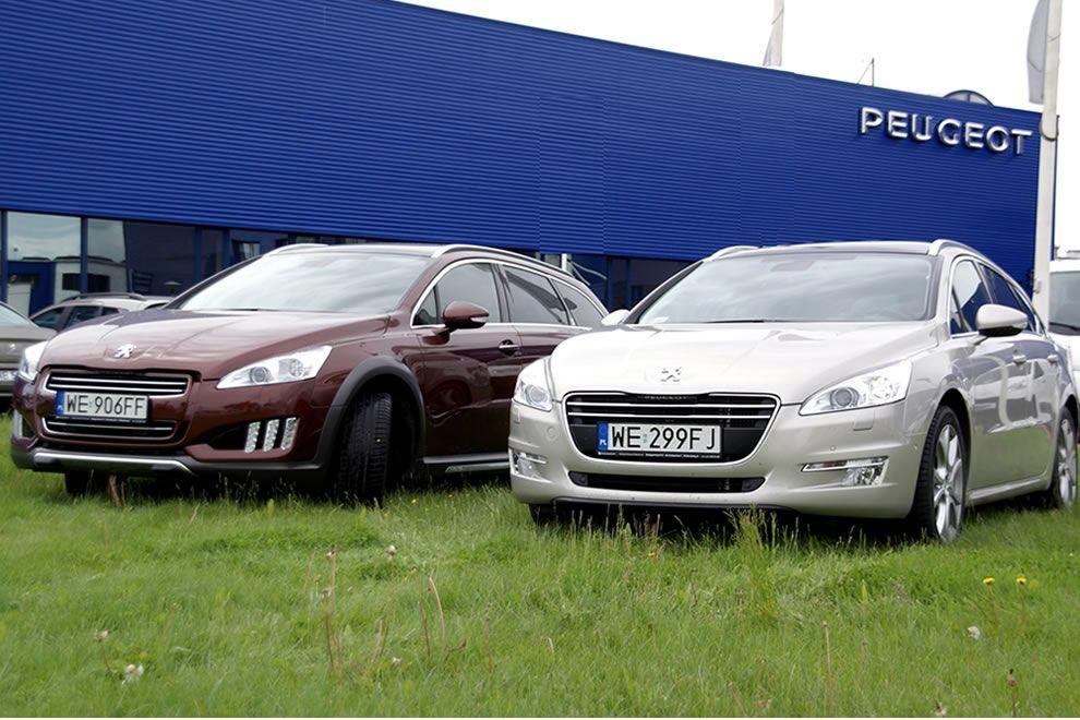 Peugeot 508 SW 2.0 HDI 163 KM i 508 RXH HYbrid 4 200 KM