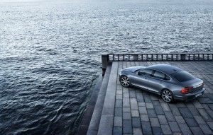 Location High-Rear Quarter Volvo S90 Osmium Grey